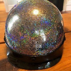 Harley Davidson Shimmer Helmet Large *RARE*
